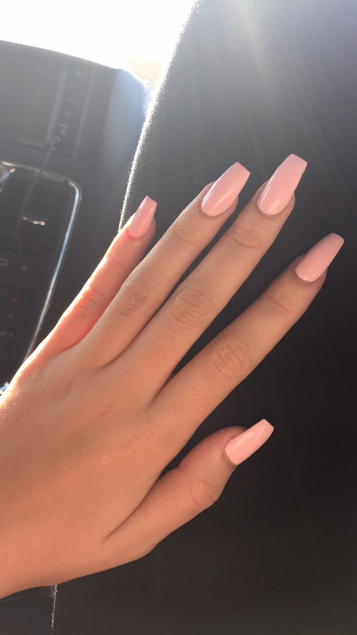 Super chic nails nails acrylicnails pink pinknails