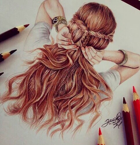 Amazing art chic colours cool image 4060084 by for Amazing drawings of girls