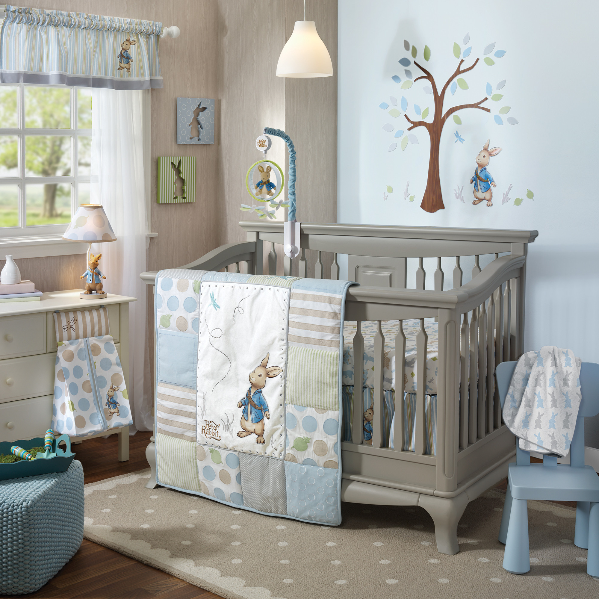 Baby Cute Home And Peter Rabbit