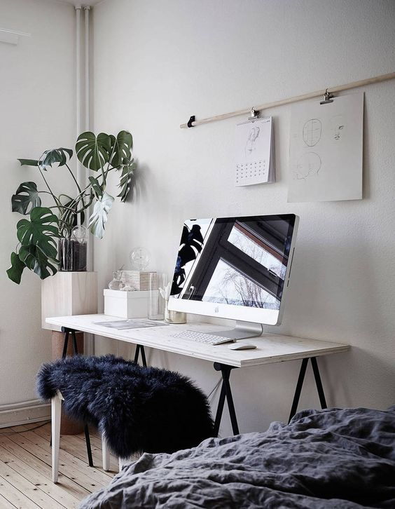 Scandinavian Workspace Image 4109529 By Kristy D On