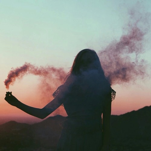 silhouette, beautiful, pale, hipster, photography