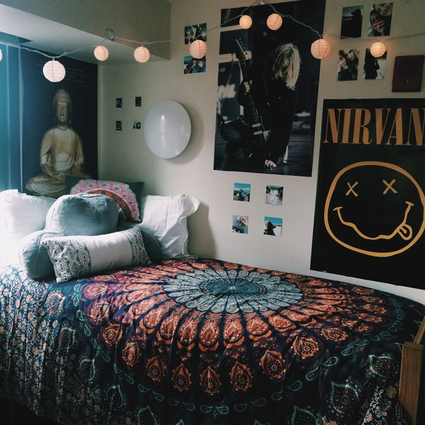 Decorating Ideas > Attrayant, Nirvana, Chambre à Coucher, Pancartes, Tumblr  ~ 165426_Edgy Dorm Room Ideas