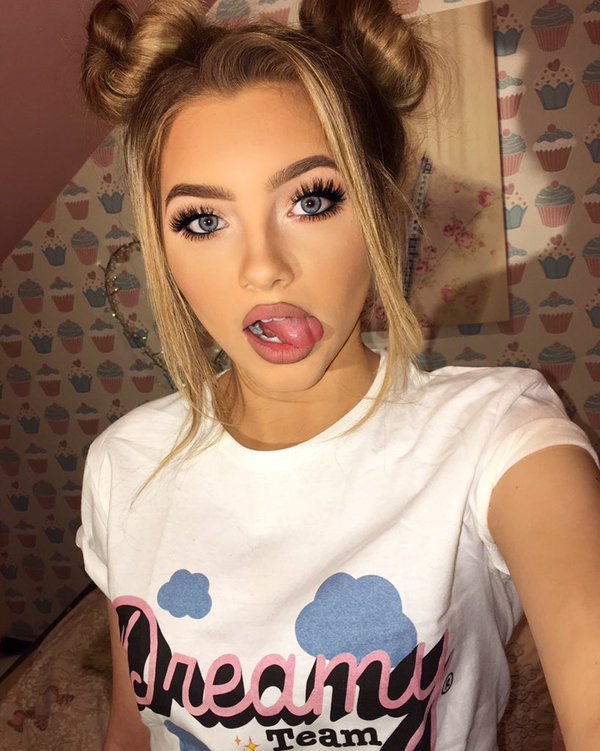 Sophia Mitchell Makeup on Hairstyles For Long Haired