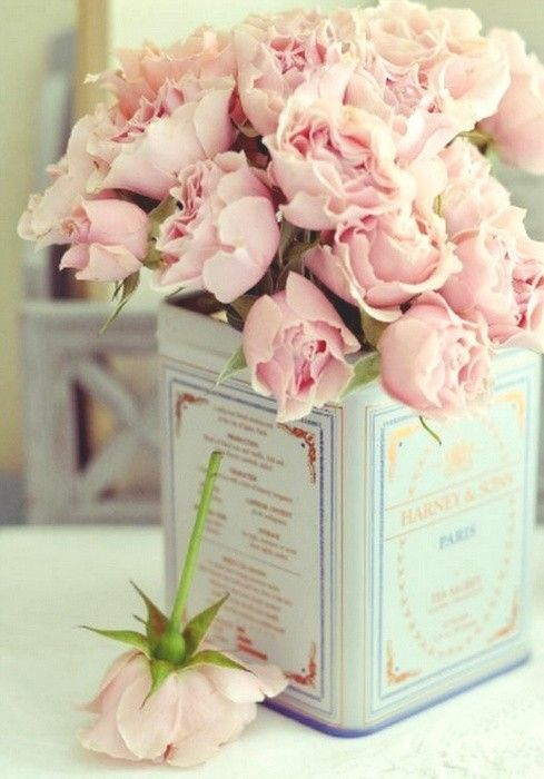 roses, rose bouquet, pink, pink roses, shabby