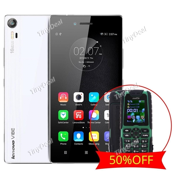 LENOVO VIBE SHOT 16MP CAM 3GB RAM Phone XIAOCAI X6