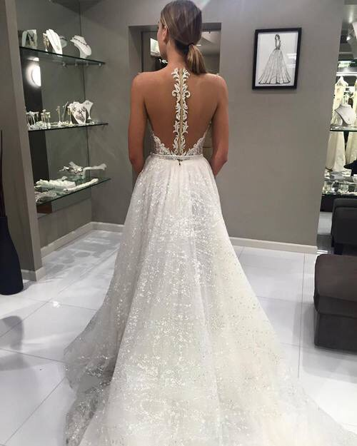 Dress fashion girl glitter wedding image 4379484 by for White sparkly wedding dress