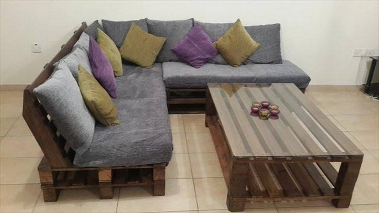 Pallet Living Room Furniture Plans Diy Home Decor Image 4381149