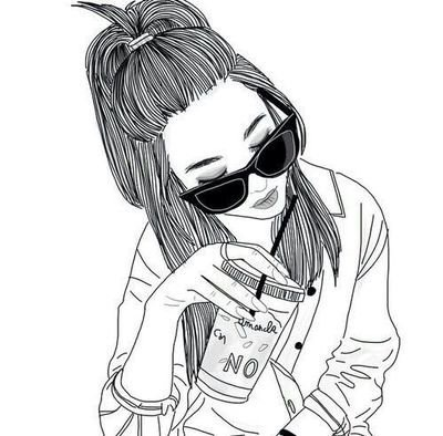 Swag Tumblr Coloring Pages