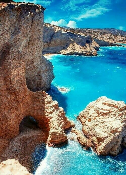 beach, blue, greece, island, magic
