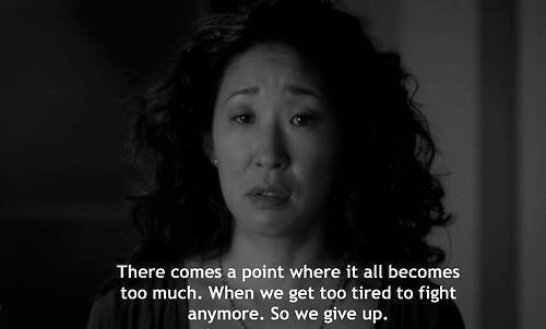 Christina Yang Frases Greys Anatomy Quotes Words Image
