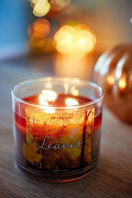 autumn, candle, fall, pumpkin, tumblr