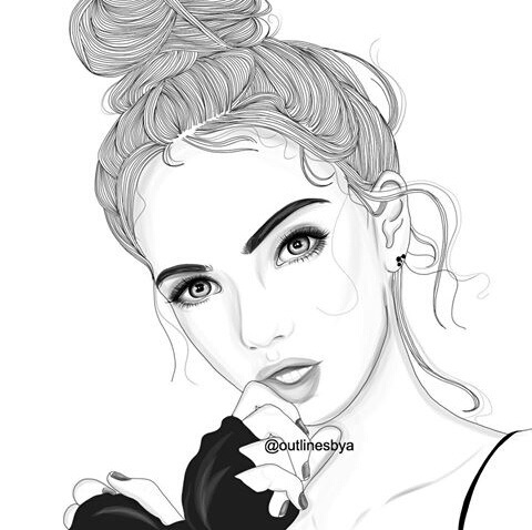 Draw Drawing Outline Outlines Tumblr Outline Image 5125624 By